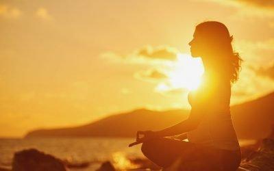 Meditationsübung zur Erdung durch den Beckenboden
